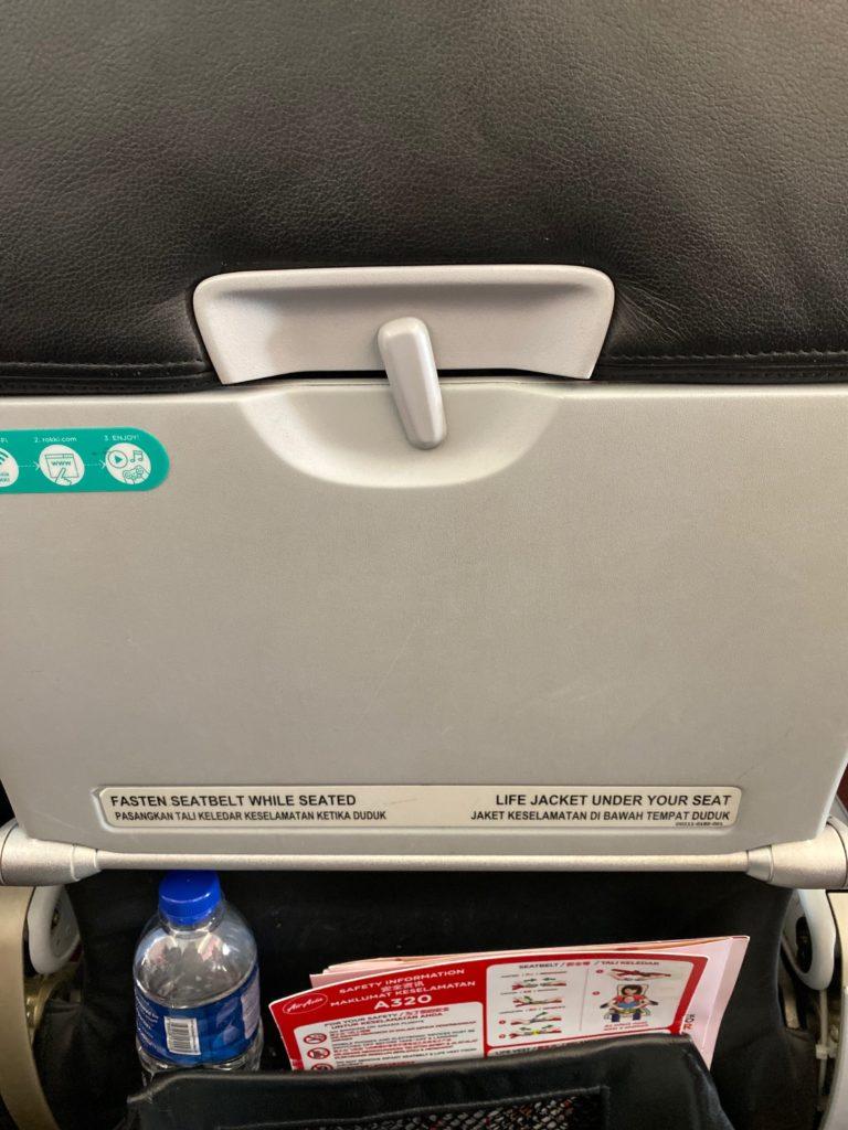 エアアジア座席