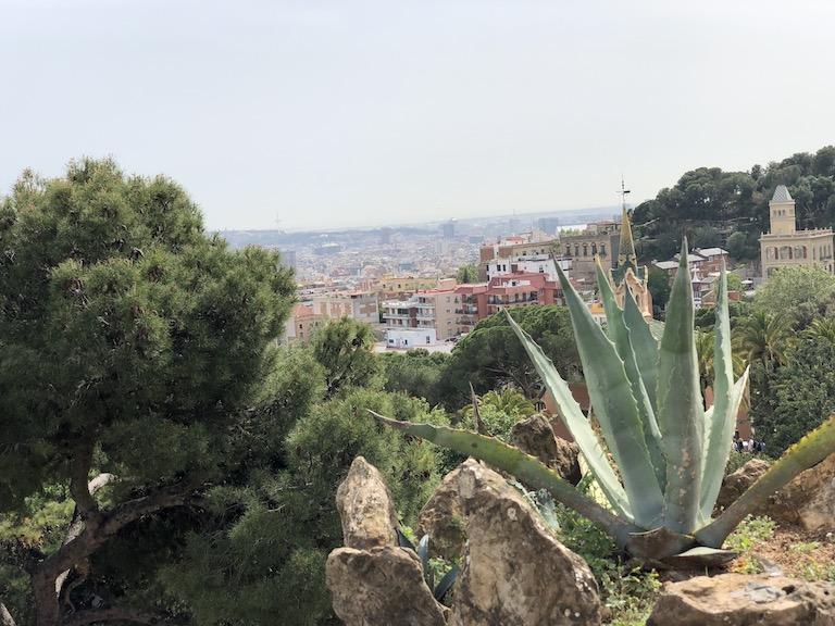 グエル公園からの眺め