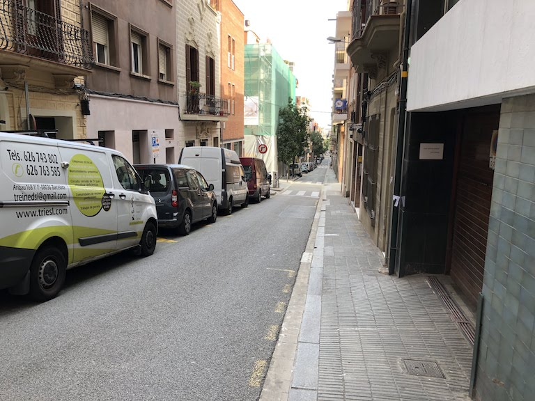 バルセロナ市街