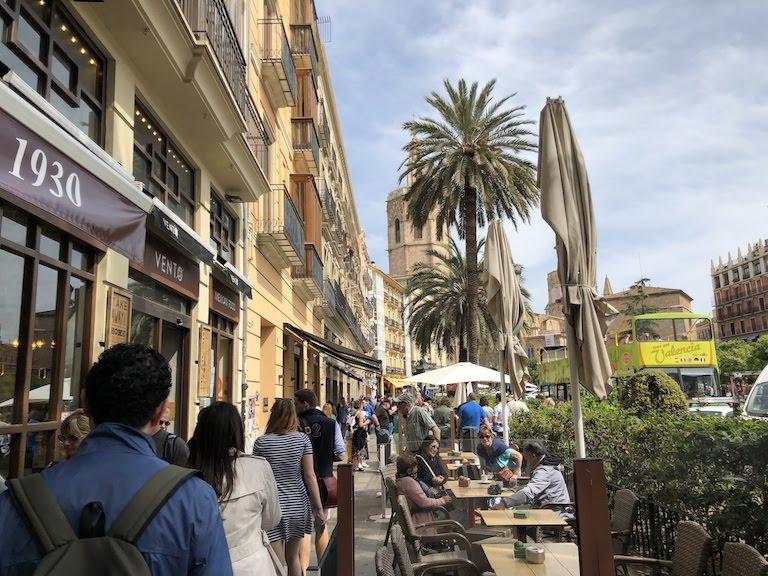 バレンシア市街