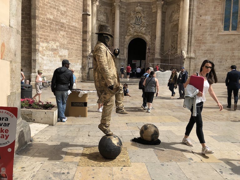 バレンシア旧市街