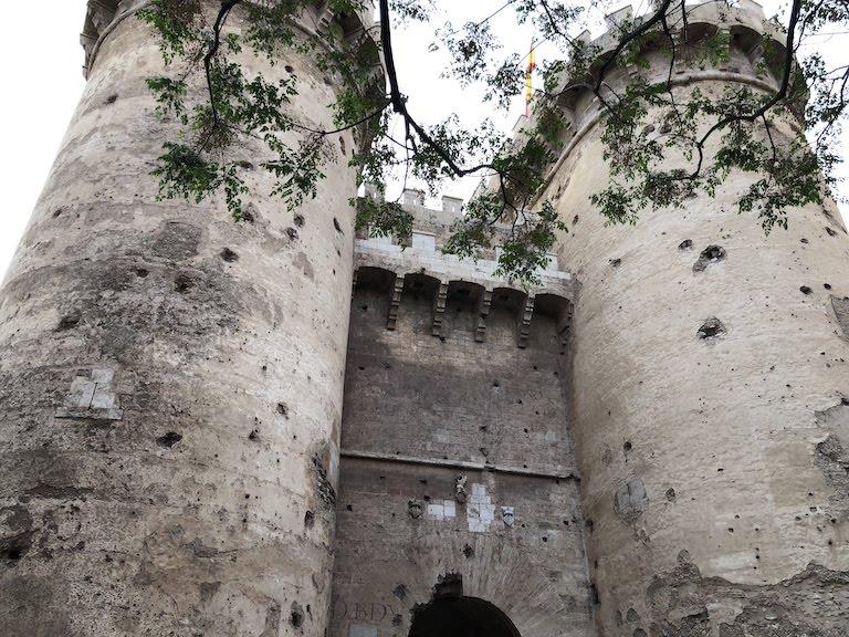 バレンシア市街の門