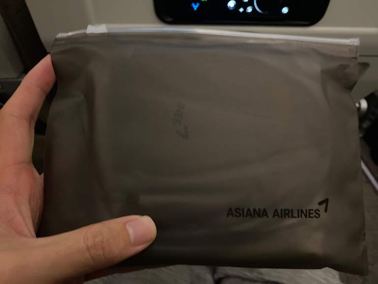 アシアナ航空アメニティ