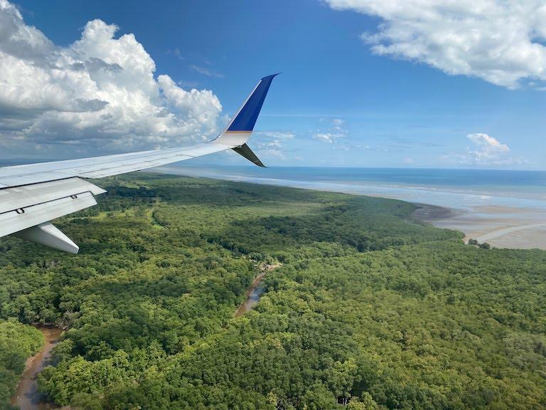 コパ航空パナマ着陸前