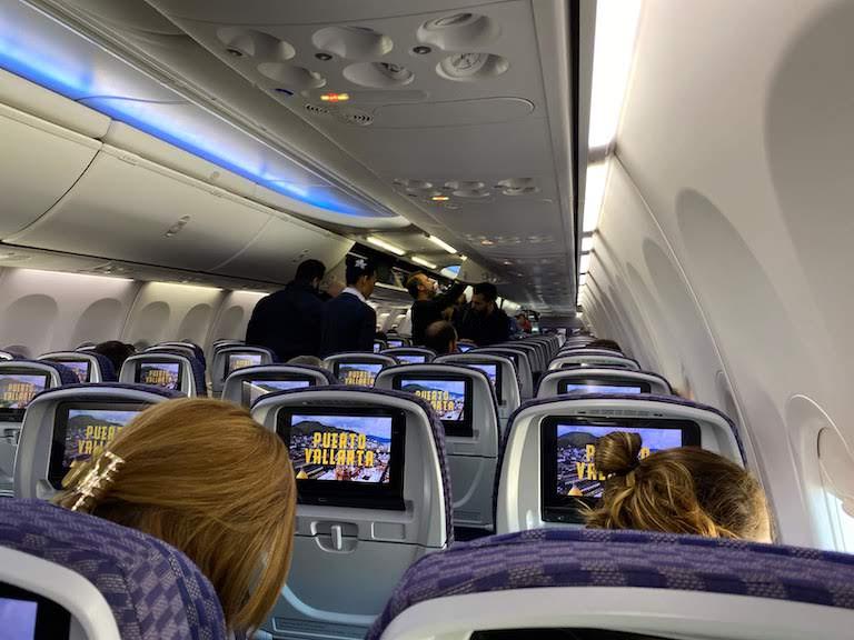 コパ航空機内
