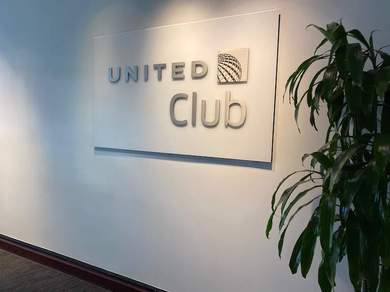 ヒューストン国際空港 ユナイテッドクラブ