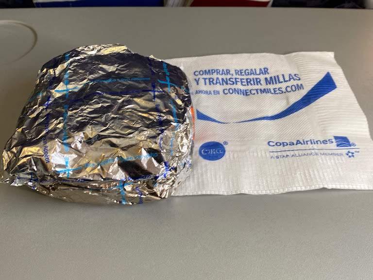 コパ航空機内サービス