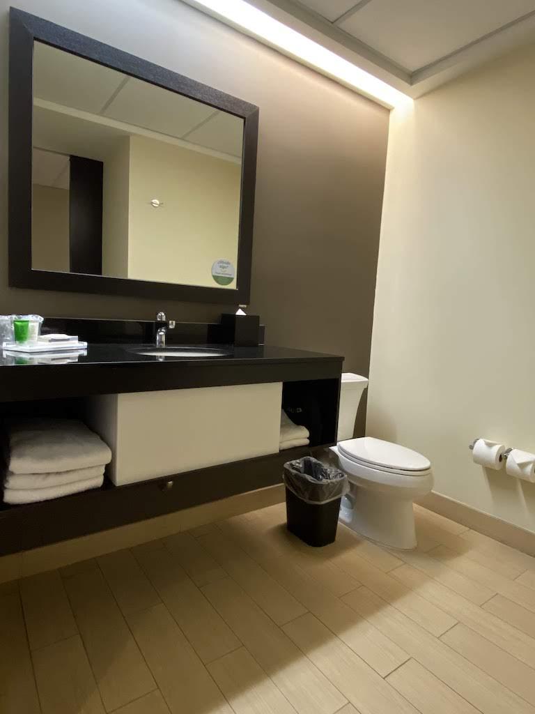 ホリディインパナマ バスルーム