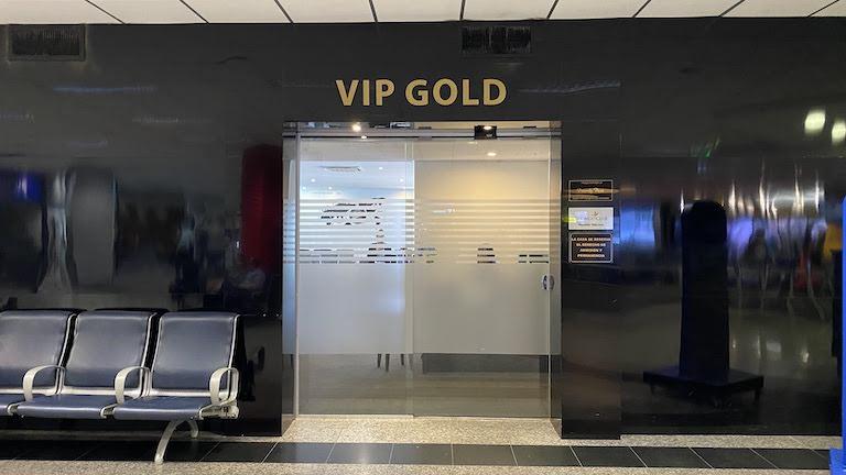 VIP GOLD ラウンジの入り口