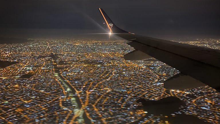 リオデジャネイロ上空