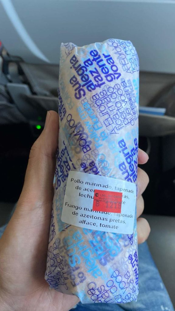 Azul機内サービス