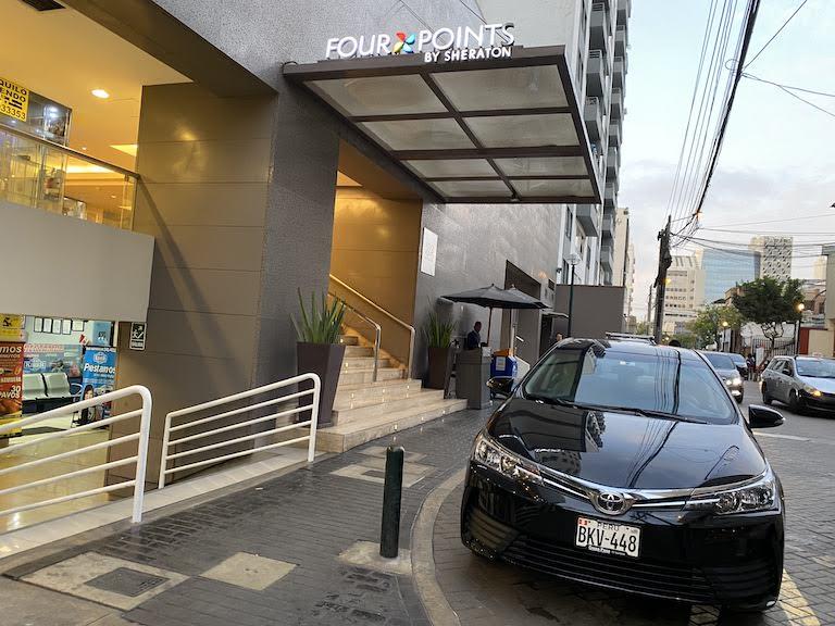 FourPoints Lima エントランス