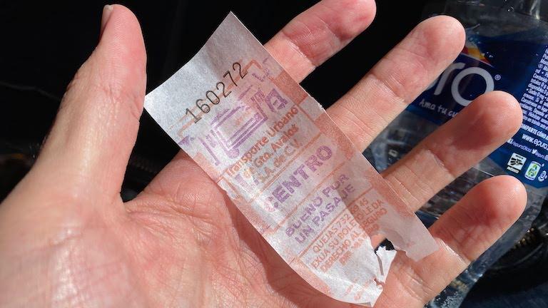 グアナファトセントロ行きバス切符