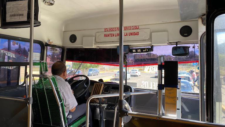 グアナファトセントロ行きバス