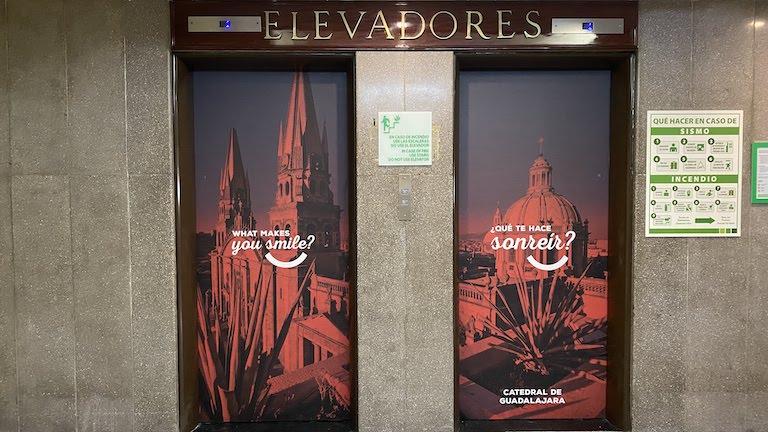Holiday-Inn-Guadalajara エレベーター