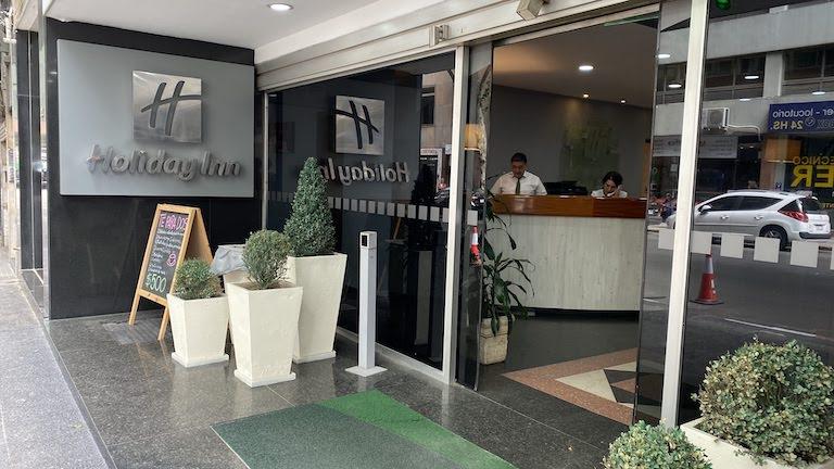 Holiday Inn モンテビデオ 入り口
