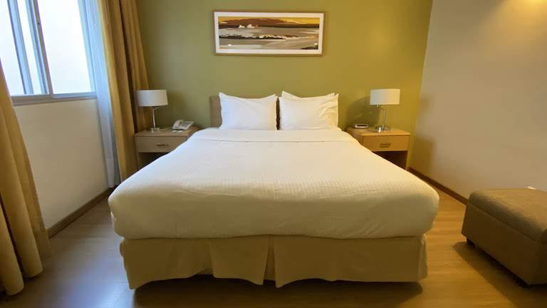 Holiday Inn モンテビデオ ベッド
