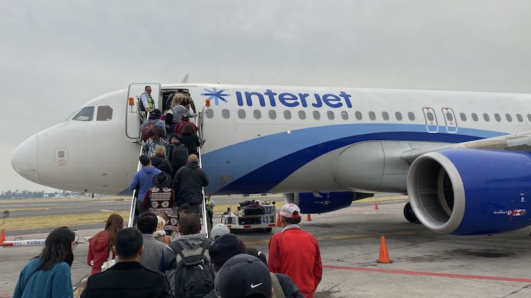 Interjet機体