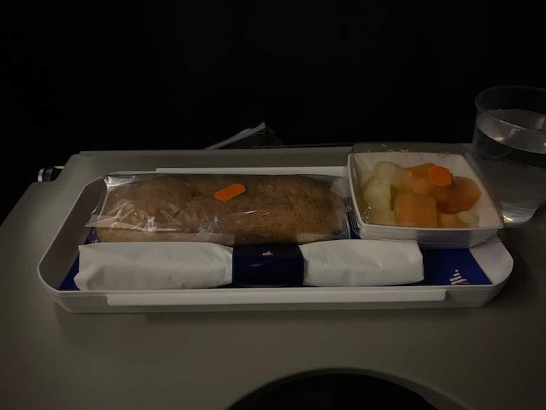 ラタム航空機内食