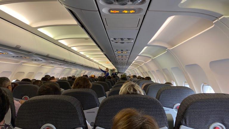 TAM航空機内