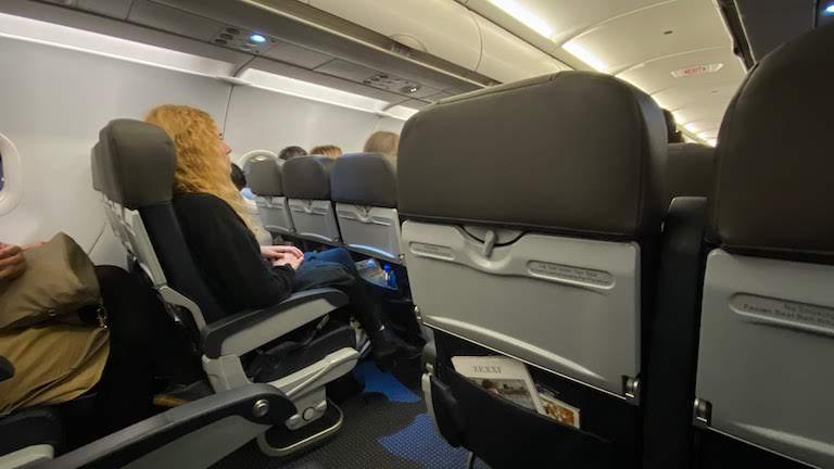 アメリカン航空座席