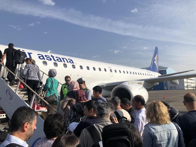 エアアスタナ(Air Astana)