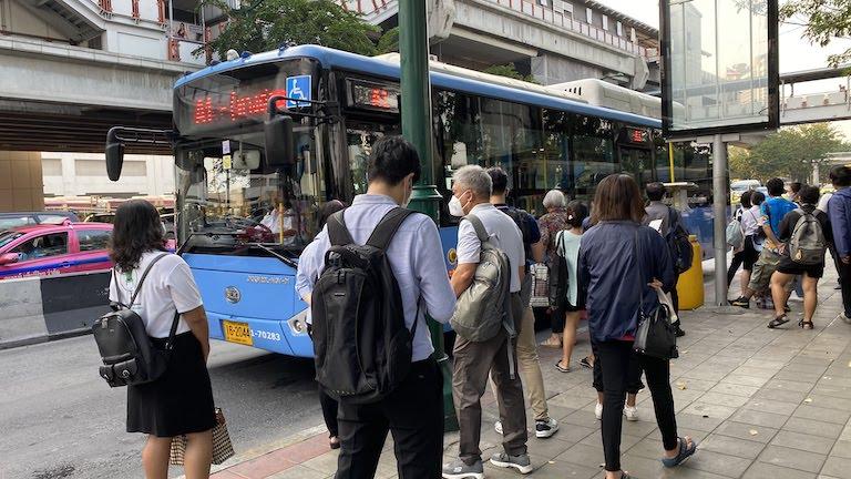 バンコク A1バス