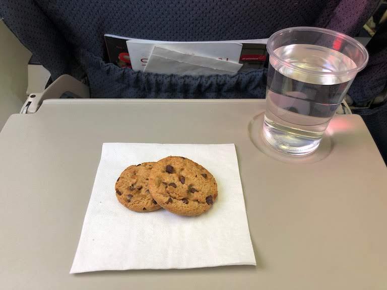 グリーンランド航空 機内サービス クッキー