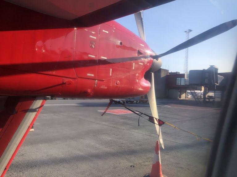 グリーンランド航空 プロペラ