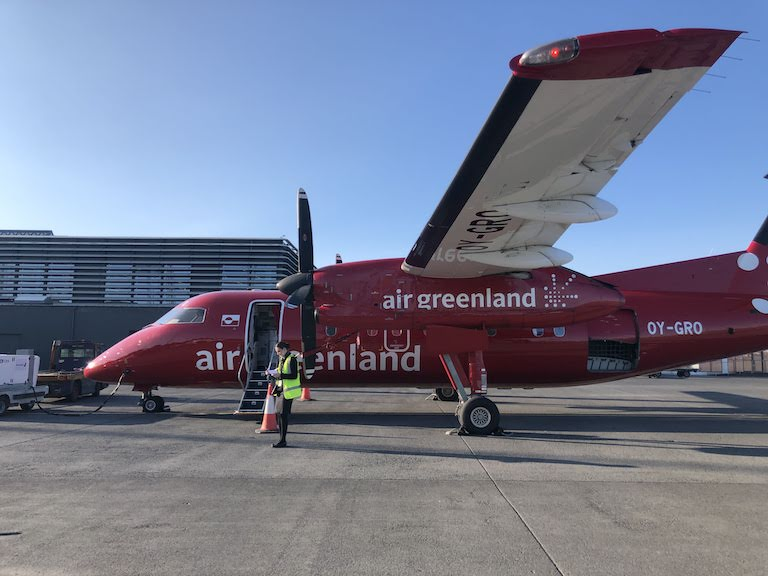 グリーンランド航空 機体