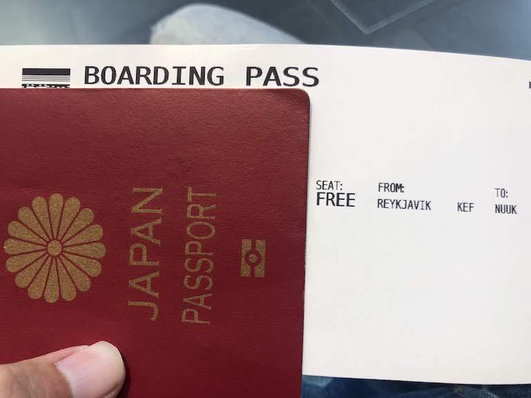 グリーンランド航空 ヌーク行き航空券