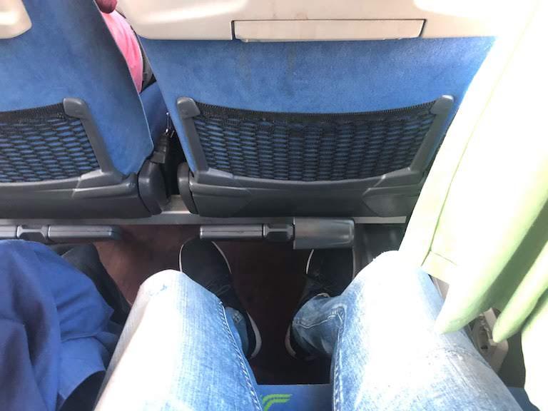 フリックスバス座席