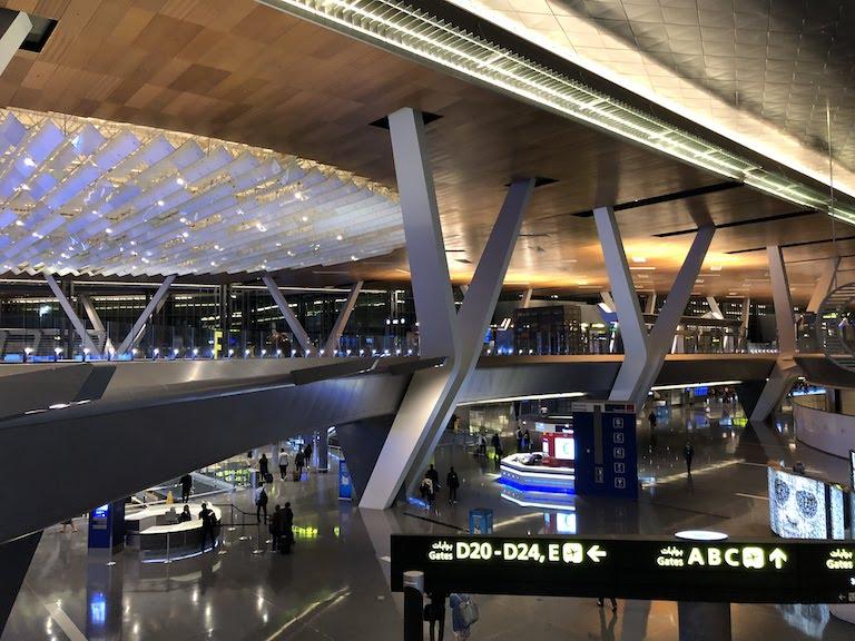 ドーハ ハマド国際空港