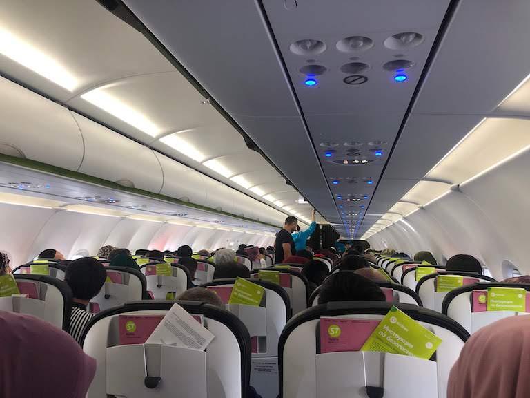 S7航空機内