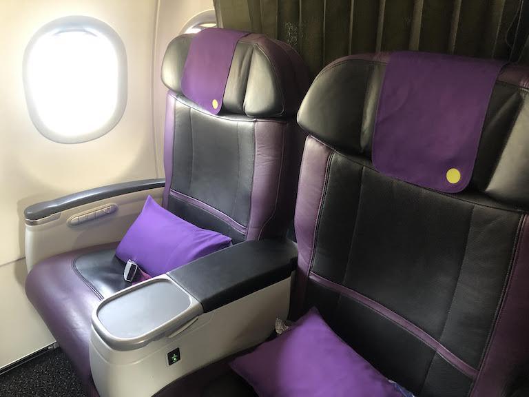 S7航空ビジネスクラス