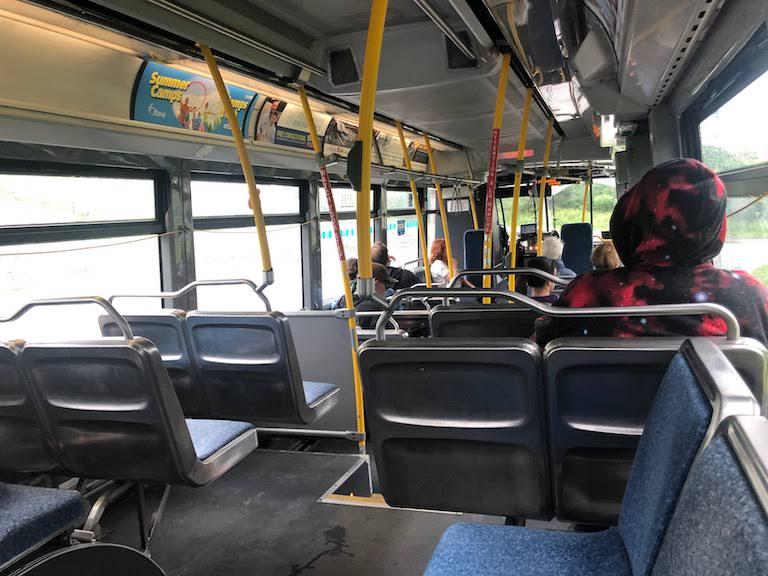 オタワ市バス