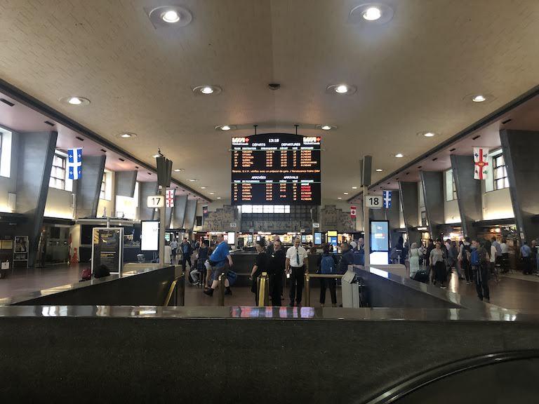 モントリオール中央駅