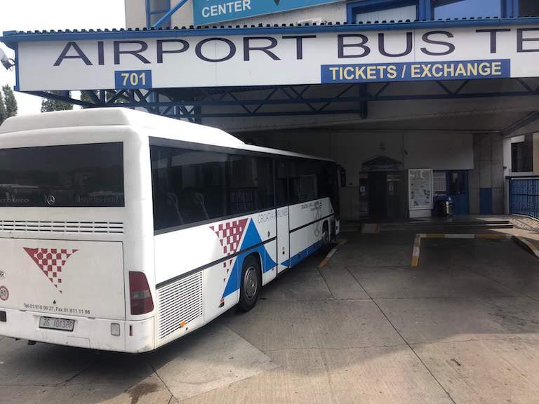ザグレブ 空港バス