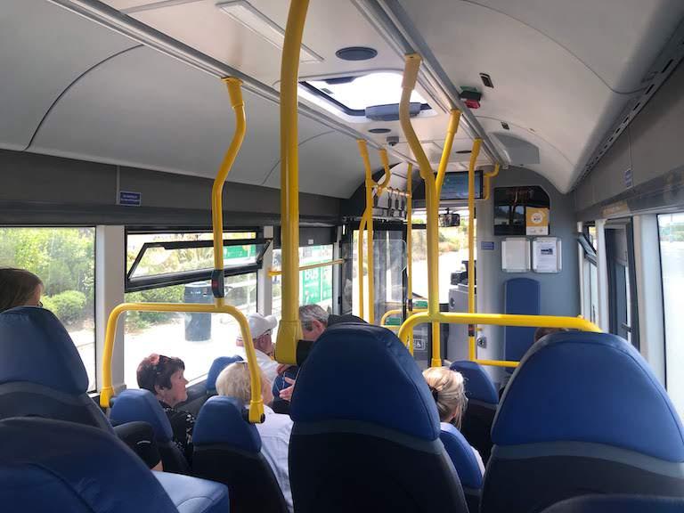 ガーンジー空港バス