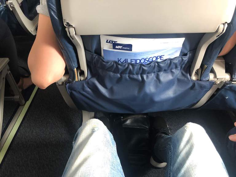 LOTポーランド航空 座席