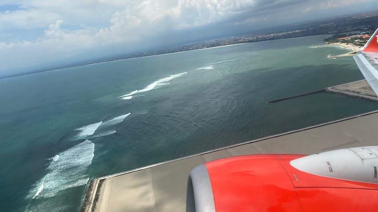 バリ島上空
