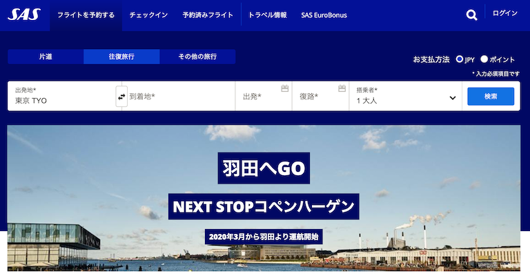 SASホームページ
