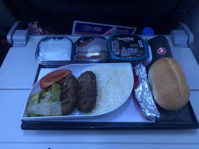 ターキッシュエアラインズ 機内食