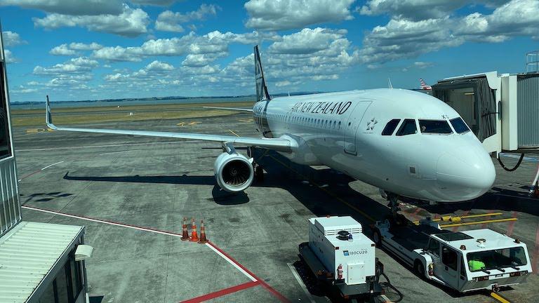ニュージーランド航空 機体