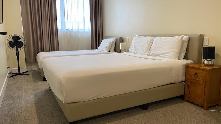 グランド セントラル サービスド アパートメンツ ベッド