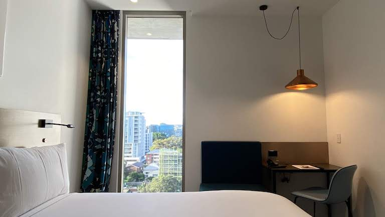 シタディーン シドニー 客室窓側