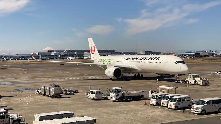 JAL A350@HND