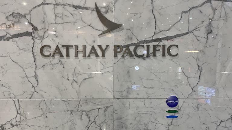 クアラルンプール国際空港 キャセイパシフィック航空ラウンジ