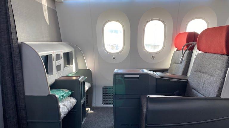 ラタム航空ビジネスクラス シート