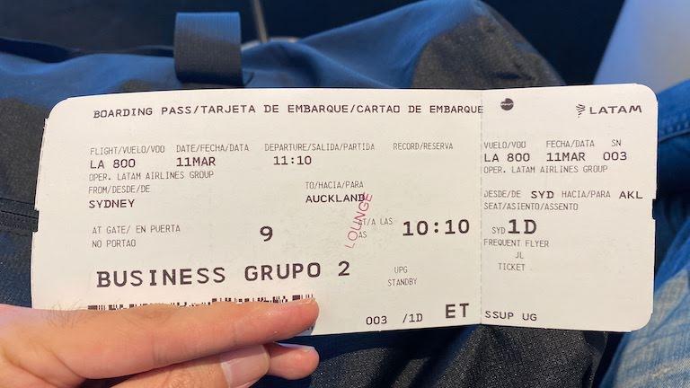ラタム航空ビジネスクラスチケット